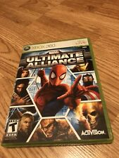 Marvel: Ultimate Alliance (Microsoft Xbox 360, 2006) Nice Disk Works VC8