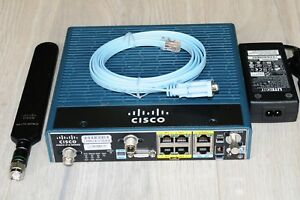 Cisco C819G-LTE-LA-K9 4G M2M LTE FDD and TDD Wireless Router 1YrWty TaxInv