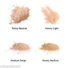 Mineralshack 4 Medium Skin face powder sample kit bags mineral make up