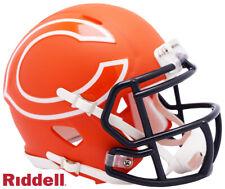Chicago Bears Amp Speed Mini Helmet New In Box 10068