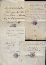 More details for 1879-86 holy island, six 1d receipts signed by jane willis