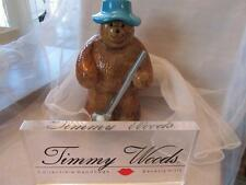 Timmy Woods Beverly Hills Duffy Golf Bear Retired Handbag LE 13/40 New NWT