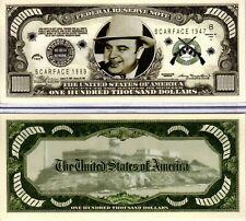 Al Capone - Gangster Series Hundred Thousand Dollar Novelty Money