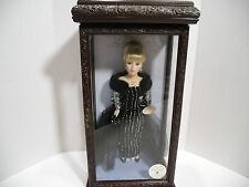 "Camellia Garden Gold Key Collection 16"" Porcelain Doll w/Swarovski Crystals, EUC"