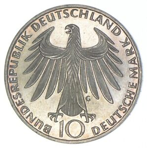 1972 Germany 10 Mark - Walker Coin Collection *723