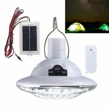 22-LED Solar Powered Yard Outdoor Tent Light Remote Control Camping Lamp