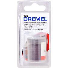 "Dremel 23.8mm(15/16"") 20pcs Heavy Duty Cut-off Wheels 2615042032"