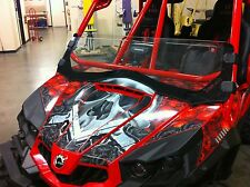 AMR RACING DECAL STICKER PARTS GRAPHIC KIT CANAM COMMANDER BRP DECAL 800R,1000X
