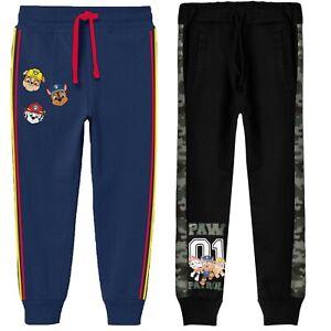 Paw Patrol Boys Toddlers Sweatpants Trousers Joggers Pants 100% Cotton 2-8 yrs