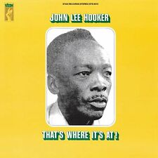 JOHN LEE HOOKER - THAT'S WHERE IT'S AT! (LP) (LIMITED EDITION)   VINYL LP NEUF