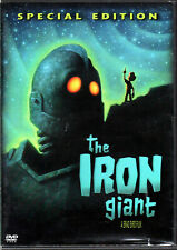 The Iron Giant Movie on a Dvd of Ufo Robot Kids Childrens Cartoon Animated Video