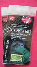 SEEN ON TV 2 Internal Cell Mobile Phone Antenna Signal BOOSTERS Verizon AT&T