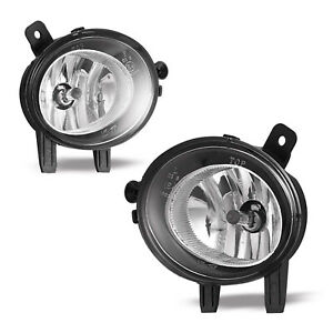 For BMW 2 3 4-series Driver Passenger Side Halogen Fog Light Lamp Assembly Pair