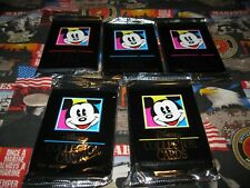 Disney Collector Trading Cards 5 Unopened Packs.