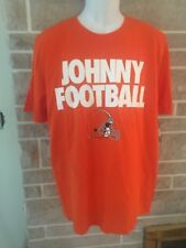 Nike Cleveland Browns Johnny Football Orange Mens Youth Size L New