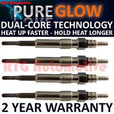 4x Diesel Heater Glow Plugs For Audi Chrysler Seat Skoda VW 1.9 TDI  Dual Core