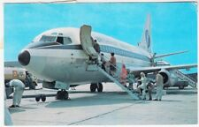 AVIATION - Britannia Airways Boeing 737 Aeroplane - postcard used in Germany