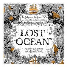 Lost Ocean Adult Coloring Book Childrens Kids Graffiti Drawing Painting Color
