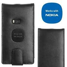 Genuine Luxury Alpha Leather Flip Case for Nokia Lumia 920 Tough Slim Thin Cover