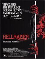 HELLRAISER__Orig. 1986 Trade studio promo_poster_ad__CLIVE BARKER__Stephen King