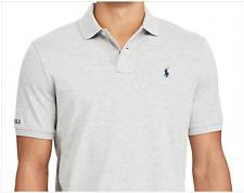 NWT Polo Ralph Lauren Men's Classic Fit Cotton Mesh Polo Shirt Heather Gray XL