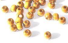 1000 Ronde en Bois Wood Craft Bijoux commerce en vrac perles Pack 6 mm-naturel