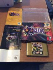 Legend of Zelda: Majora's Mask (Nintendo 64 n64, 2000) Complete in Box FAIR