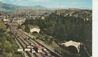 A)  Los Angeles, CA - Overhead View of Pasadena Arroyo Parkway - Elysian Park