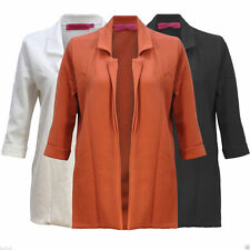 Polyester Blazer Casual Coats & Jackets for Women