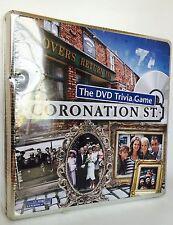 Coronation Street DVD juego de trivia en una caja de estaño-Nuevo