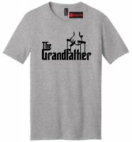 The Grandfather Mens VNeck T Shirt Funny Movie Parody Godfather Grandpa Gift Tee