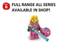 Lego minifigures intergalactic girl series 6 (8827) unopened new factory sealed