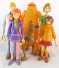Scooby-Doo Action Figure Set of 6 Shaggy Fred Daphne Velma Scooby 1000v Man