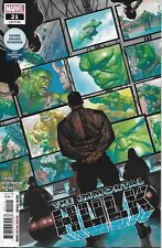 The Immortal Hulk Comic Issue 21 Limited Variant Modern Age First Print 2019