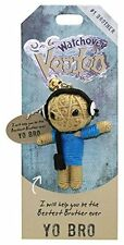 "Watchover VOODOO DOLL Keychain, YO BRO, #1 Brother, 3"" Tall"