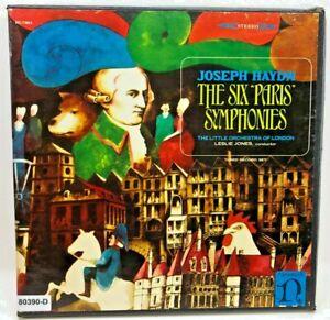 Vintage VINYL RECORD 3 LP Set Haydn THE SIX PARIS SYMPHONIES Little London Orch