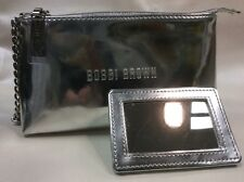Bobbie Brown Makeup Bag with Mirror, New! Cute enough to be a clutch!
