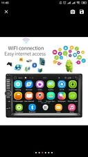 "Podofo Double Din Car Stereo Bluetooth Car Radio, WiFi, GPS, sd, USB, android,7"""