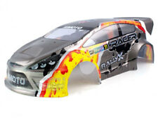 31920GY CARROZZERIA PVC BODY SHELL GREY RALLY OFF ROAD 1:10 RICAMBI E10XR HIMOTO