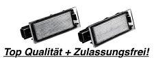 2x TOP LED Kennzeichenbeleuchtung Renault Megane CC EZ0/1 1.9 dCi / N06