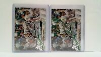 Uncirculated 2018 Topps TIFFANY Oakland Team Card + Matching Topps