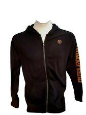 Timberland Boy Black Zip Hoodie Sweat jacket NWT Size XL 18 20 years young man