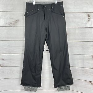 Burton Womens Pants Size M Black Ski Snow Outerwear Nylon