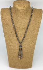 Fashion Bohemian knot tribal Crystal charming pendant necklace woman gift