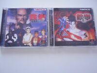 TEKKEN 2&3 SET Used SONY PS PLAYSTATION From JAPAN import ps1