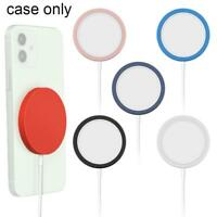 Soft Silicone Protector Case for iPhone 12 Mag  Wireless Charger u s