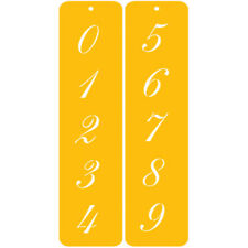 "Designer Stencils Decorating Stencil 1.25"" Script Numbers"