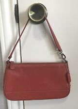 Coach Small Red Leather Handbag 7785