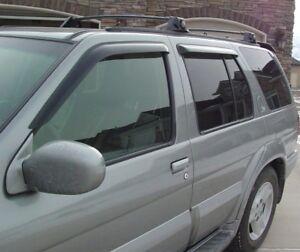 Tape-On Vent Visors for 1997 - 2004 Infiniti QX4