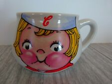 Vintage 1998 Campbell Soup Kid Collectible Mug Cup Bowl Houston Harvest Vg Cond
